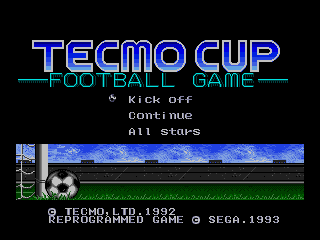 Screenshot Thumbnail / Media File 1 for Tecmo Cup (Japan) (Proto) [b]